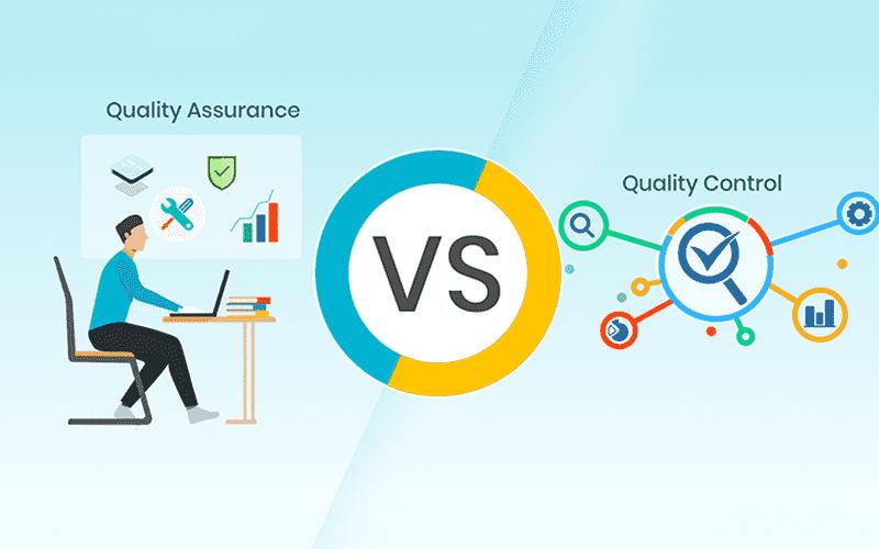 So sánh điểm khác biệt giữa QA và QC
