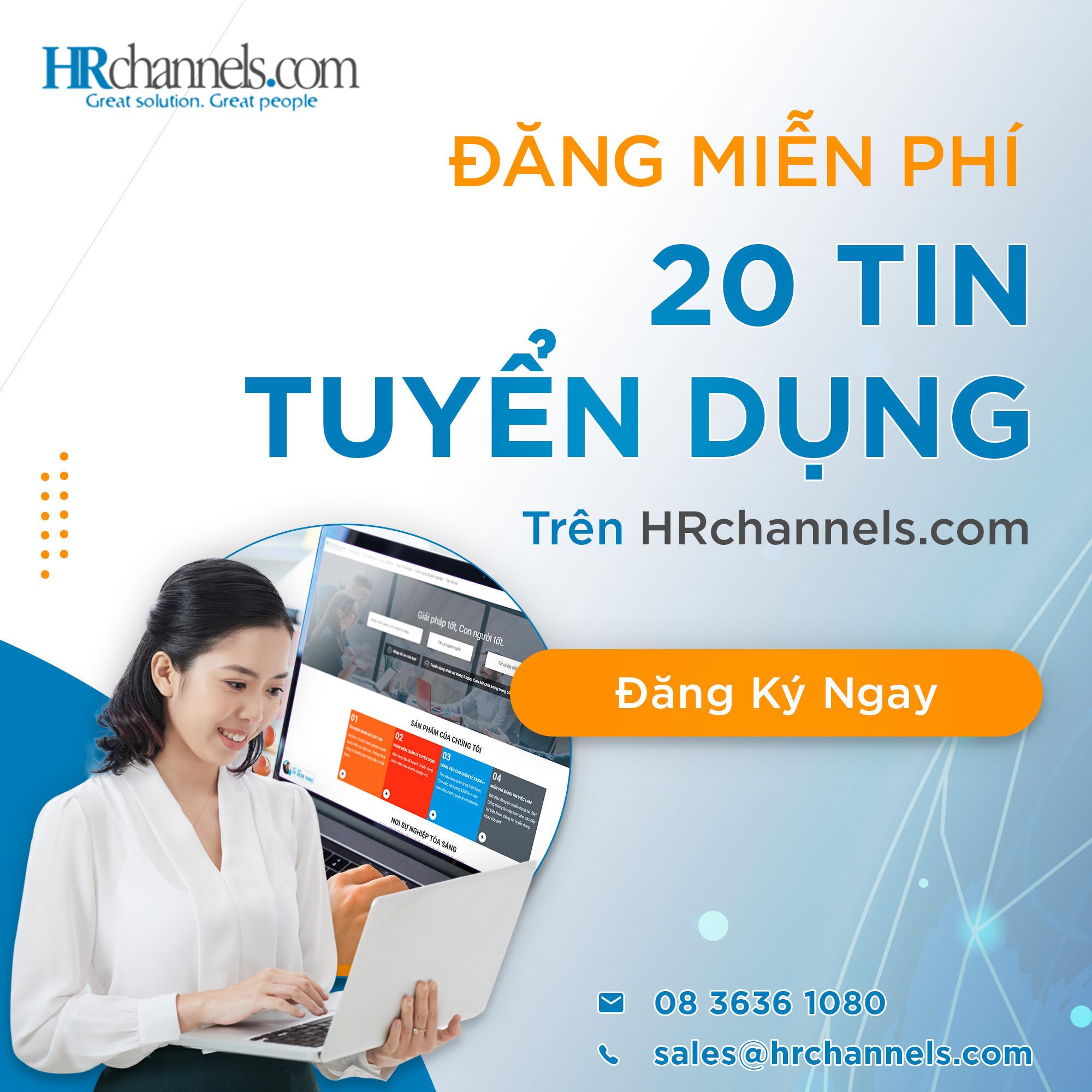 đăng tin tuyển dụng miễn phí hrchannels